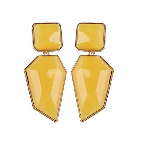 Alloy Fashion Geometric earring  (yellow) NHJQ10355-yellow's discount tags