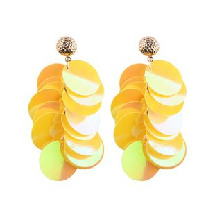 Alloy Fashion Geometric earring  (yellow) NHJQ10360-yellow's discount tags
