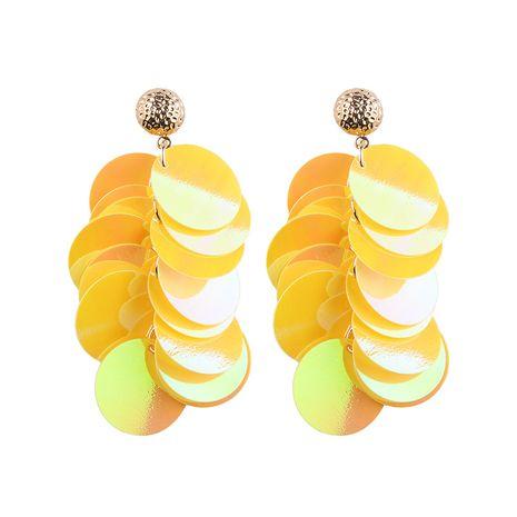 Alloy Fashion Geometric earring  (yellow) NHJQ10360-yellow's discount tags