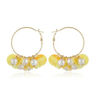 Acrylic Fashion Geometric earring  (yellow) NHVA4973-yellow's discount tags