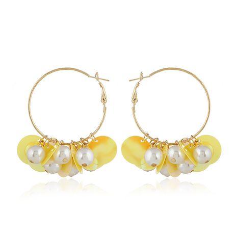 Acrylic Fashion Geometric earring  (yellow) NHVA4973-yellow's discount tags