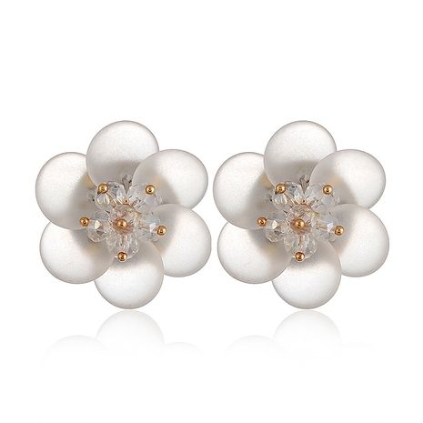 Acrylic Simple Geometric earring  (white) NHVA4975-white's discount tags