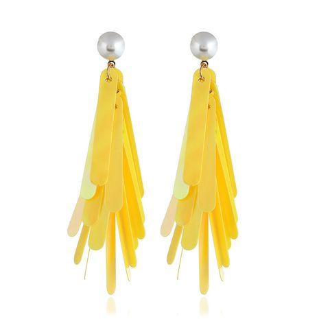 Acrylic Fashion Geometric earring  (yellow) NHVA4979-yellow's discount tags
