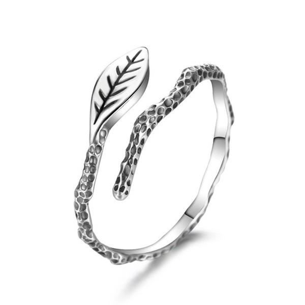 Alloy Vintage Geometric Ring  (Alloy) NHTF0082-Alloy