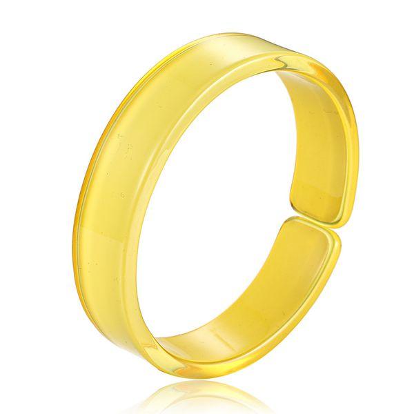 Acrylic Fashion Geometric bracelet  (yellow) NHTF0098-yellow