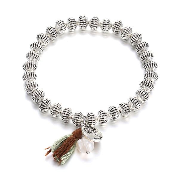 Alloy Fashion Geometric bracelet  (Ancient alloy) NHTF0108-Ancient-alloy