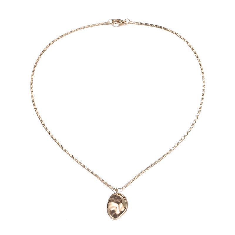 Alloy Fashion Geometric necklace  (Alloy) NHTF0124-Alloy