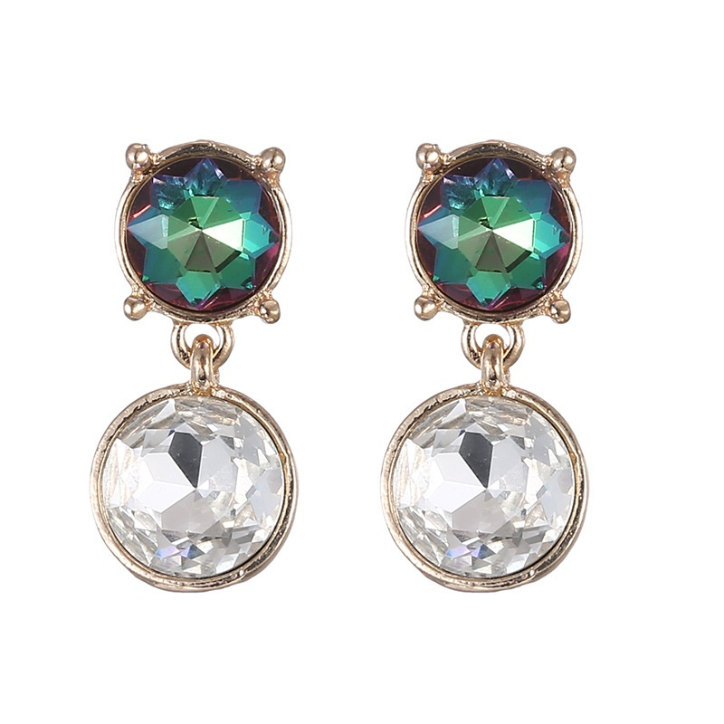Alloy Fashion Geometric earring  (color) NHTF0170-color