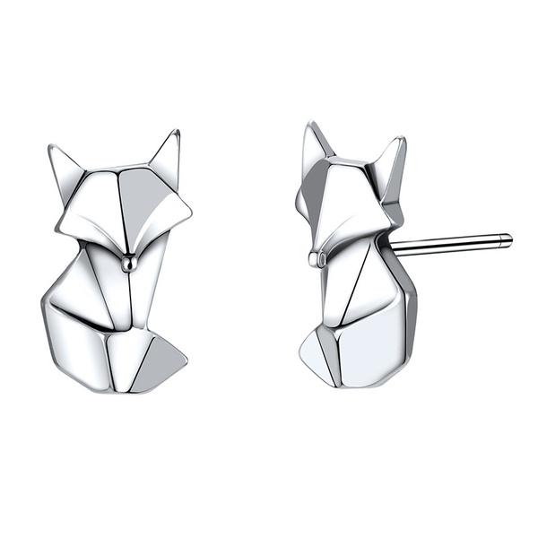 Alloy Fashion Animal earring  (Alloy-925 Alloy) NHTF0172-Alloy-925-Alloy