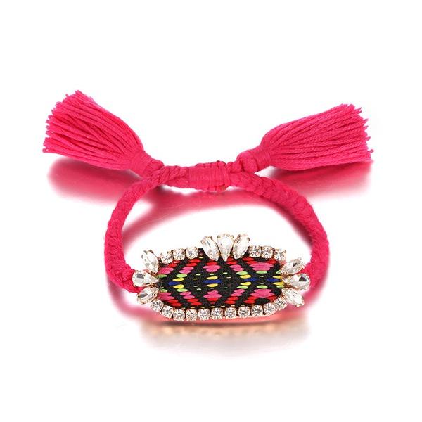 Alloy Bohemia Geometric bracelet  (Alloy + Rose) NHTF0195-Alloy-Rose