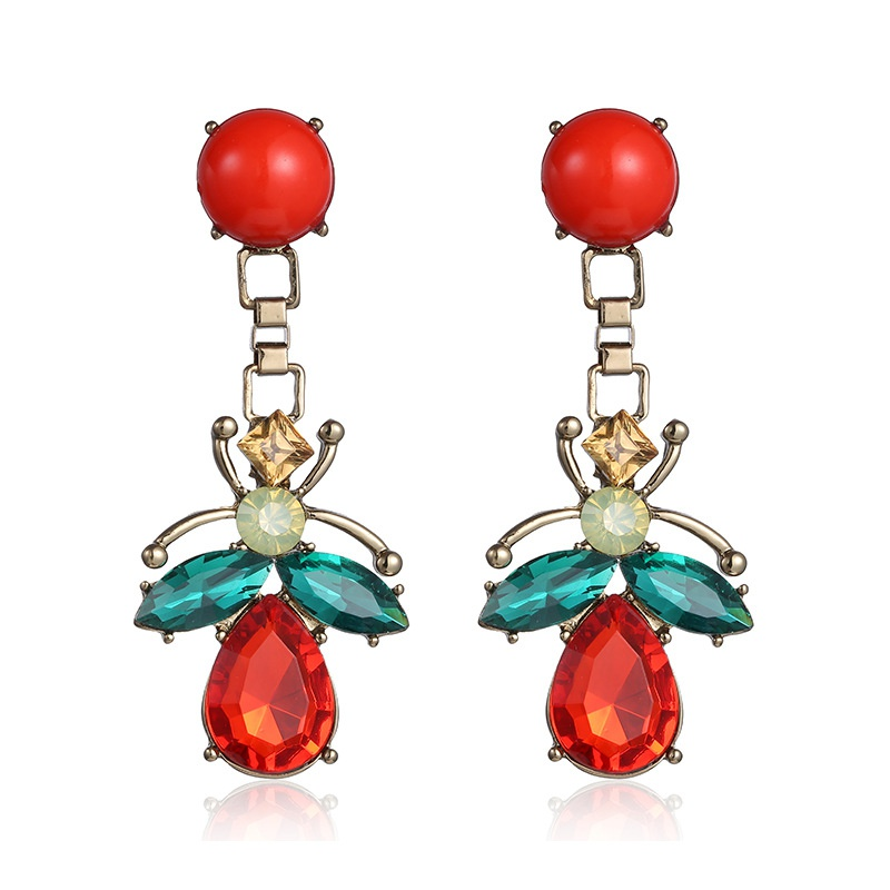 Alloy Fashion Geometric earring  (Mixed color) NHTF0202-Mixed-color
