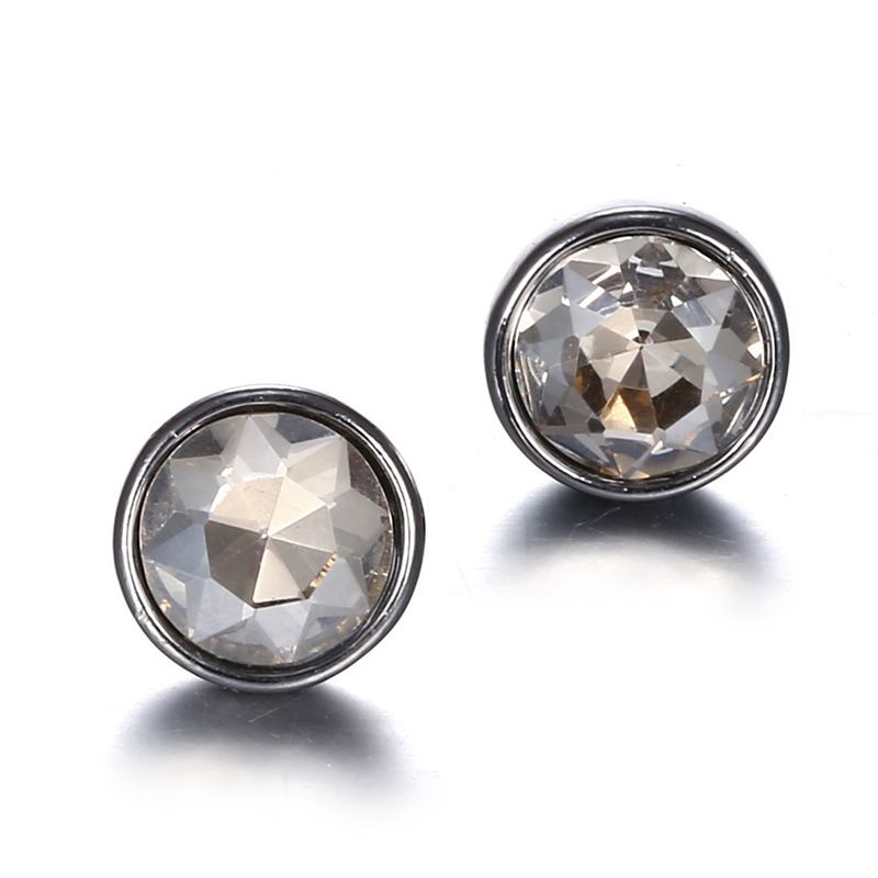 Alloy Simple Geometric earring  (gray) NHTF0240-gray