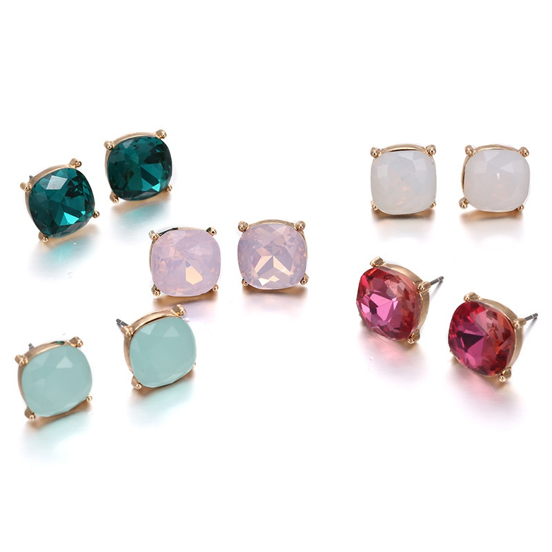 Alloy Fashion Geometric earring  (Mixed color) NHTF0325-Mixed-color