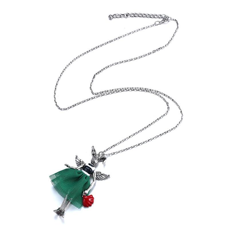 Alloy Korea Cartoon necklace  (Alloy) NHTF0329-Alloy