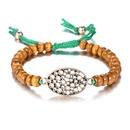 Alloy Bohemia Sweetheart bracelet  Old Alloy + Coffee Color NHTF0263OldAlloyCoffeeColor