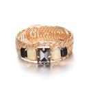 Alloy Fashion Geometric bracelet  KC alloy + black NHTF0267KCalloyblack