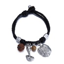 Alloy Fashion Geometric bracelet  Ancient alloy + black NHTF0287Ancientalloyblack