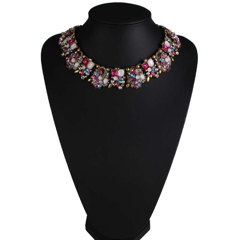 Occident alloy Geometric necklace ( color ) NHJQ5106