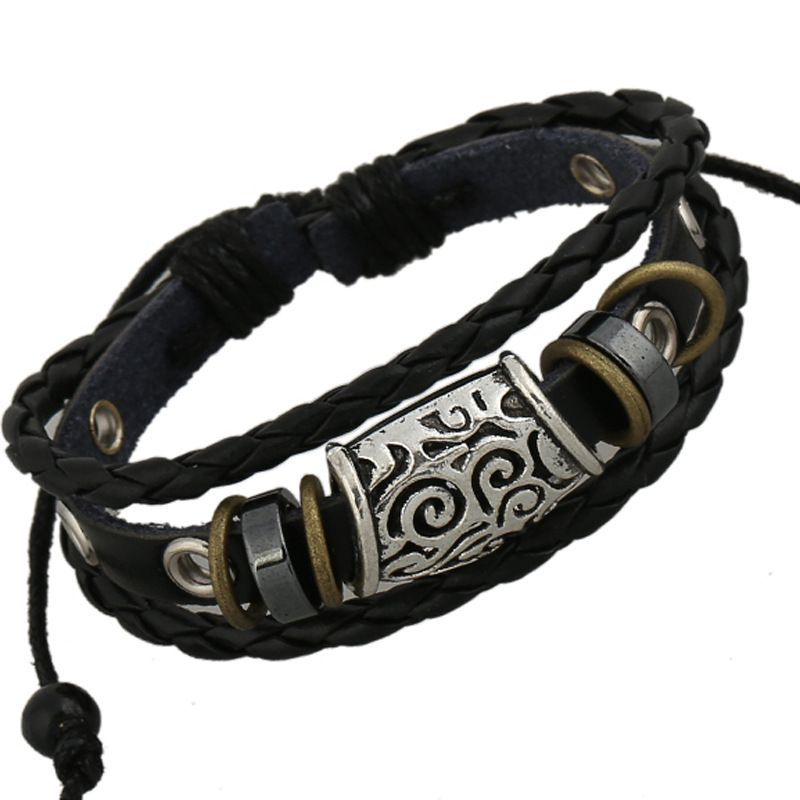 folkcustom Cortical Geometric Bracelet NHPK0276