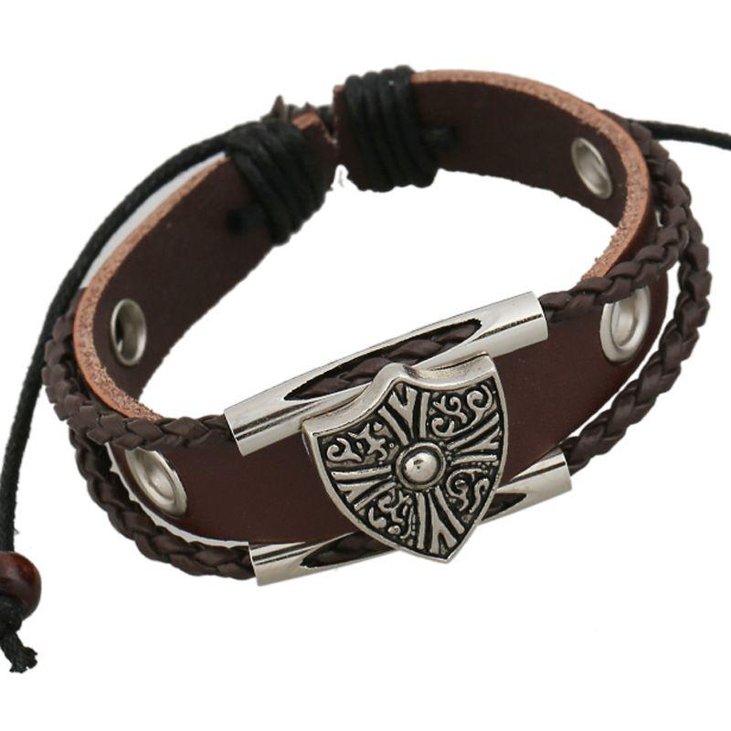 Retro Cortical Geometric Bracelet NHPK0295