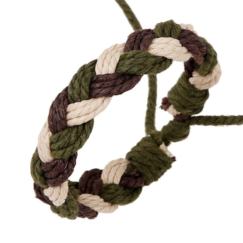Korean hemp rope Geometric Bracelet NHPK0399