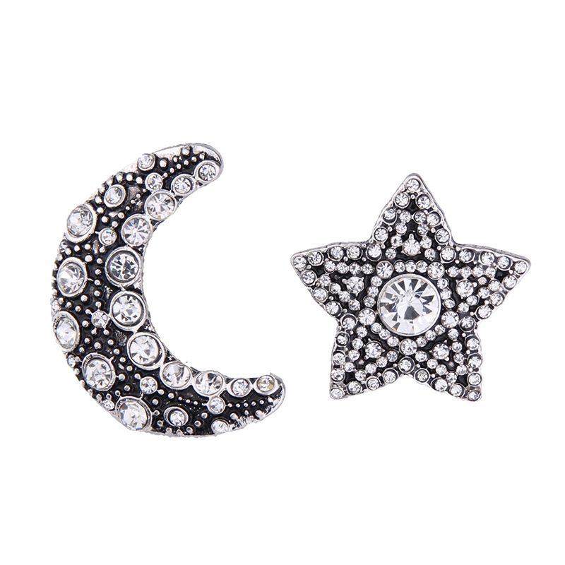 Occident alloy Geometric type earring  Photo Color  NHJQ7016