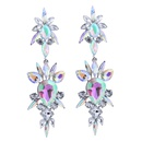 Occident and the United States alloy Rhinestone earring AB color NHJQ7164