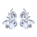 Occident and the United States alloy Rhinestone earring AB color NHJQ7188