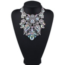 Occident and the United States alloy Rhinestone necklace Alloy NHJQ7286