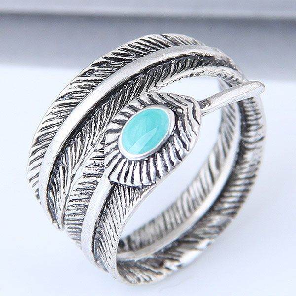 Alloy Fashion Ring NHNSC11185