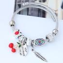TitaniumStainless Steel bracelet NHNSC9444