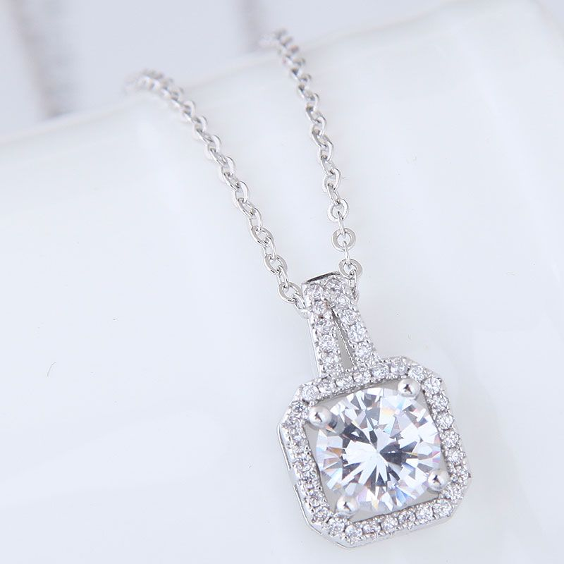 Alloy Fashion necklace NHNSC11553