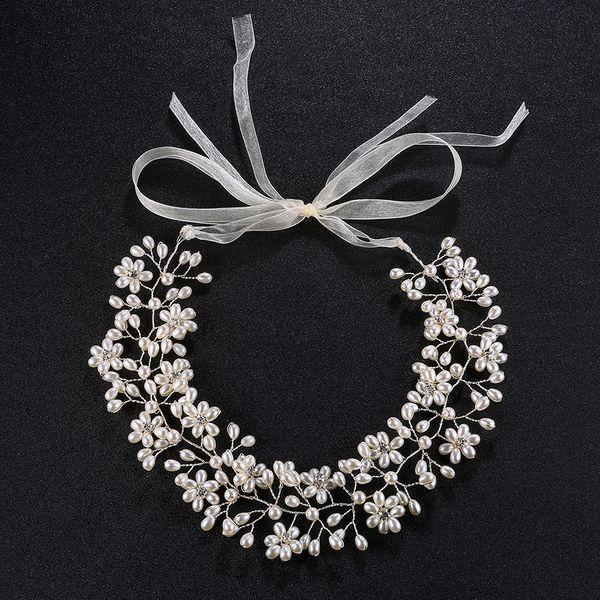 Alloy Fashion Geometric Hair accessories  (white) NHHS0006-white