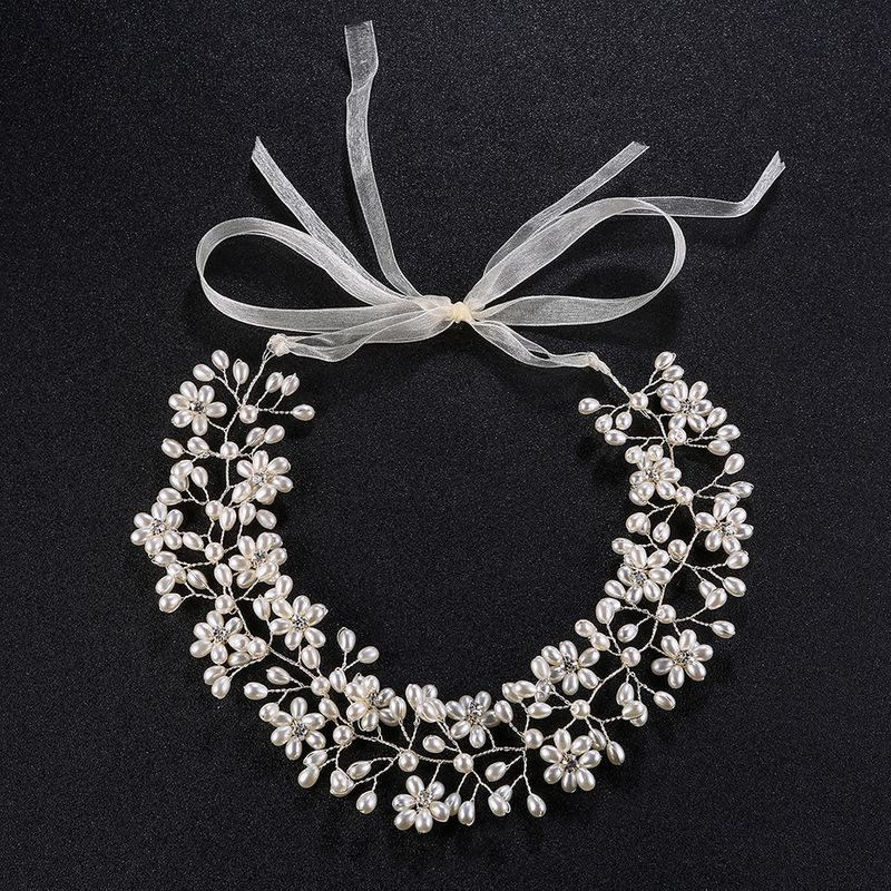 Alloy Fashion Geometric Hair accessories  (white) NHHS0006-white