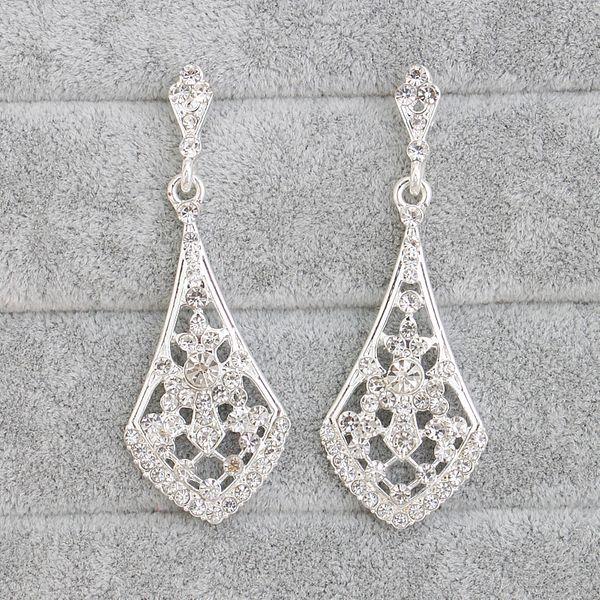 Alloy Fashion Geometric earring  (white) NHHS0008-white