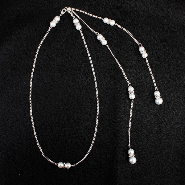 Beads Simple Geometric necklace  (Alloy) NHHS0010-Alloy