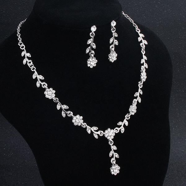 Alloy Fashion  necklace  (white) NHHS0014-white