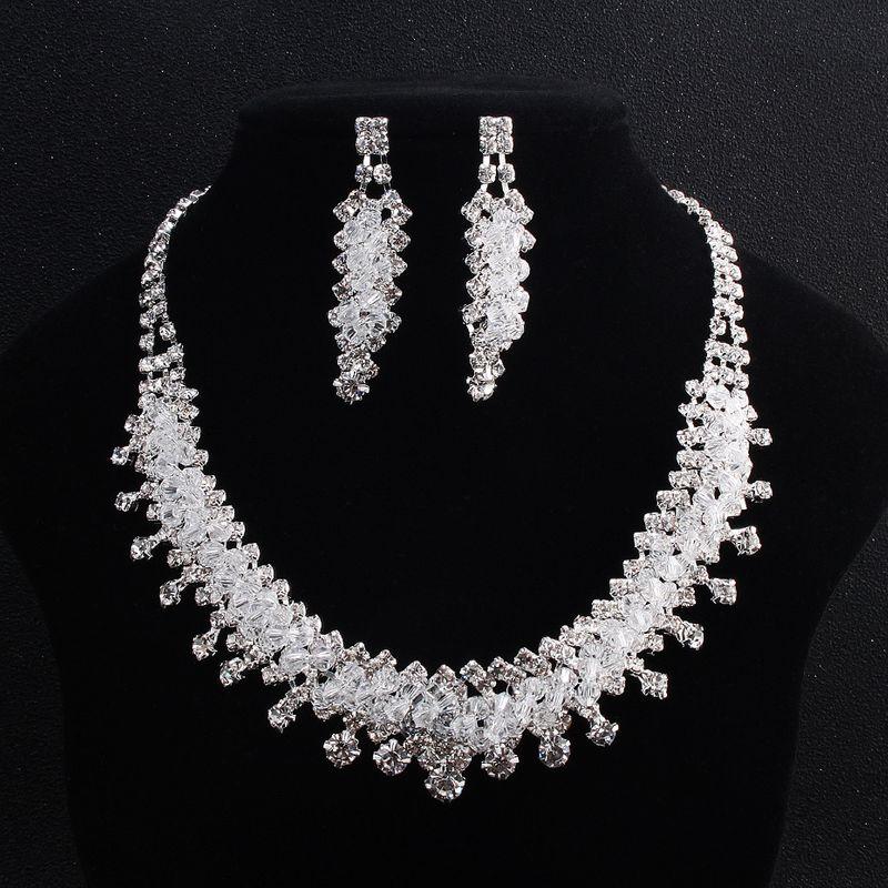 Alloy Fashion  necklace  white NHHS0019white