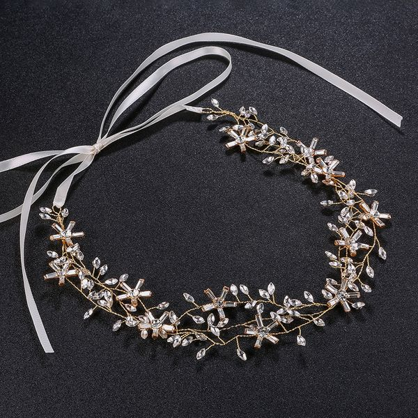 Alloy Fashion Flowers Hair accessories  (Alloy) NHHS0023-Alloy