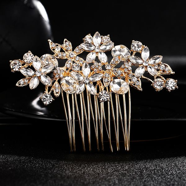 Alloy Fashion Flowers Hair accessories  (Alloy) NHHS0029-Alloy