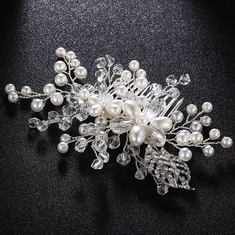 Alloy Fashion Geometric Hair accessories  (white) NHHS0032-white