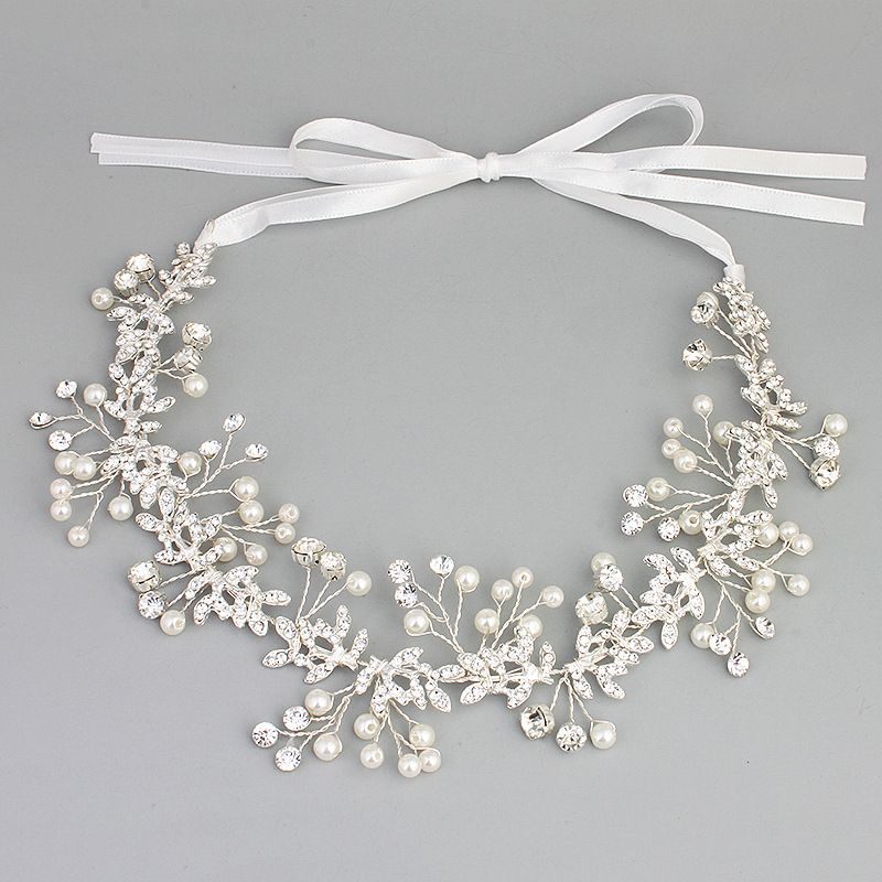 Beads Fashion Geometric Hair accessories  (Alloy) NHHS0042-Alloy
