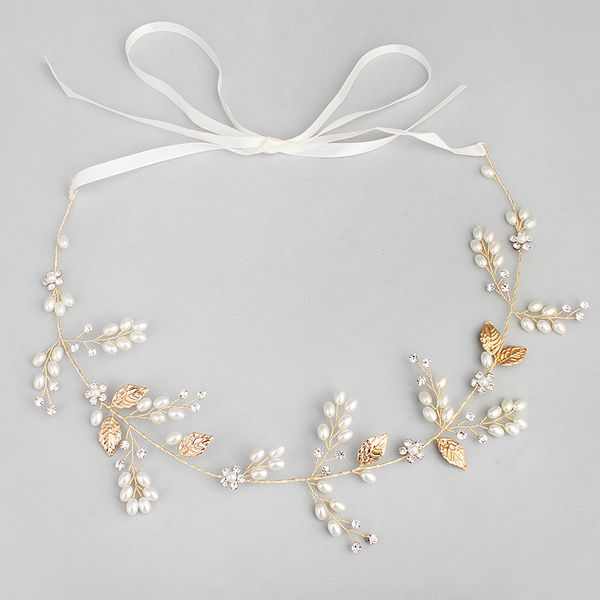Beads Fashion Geometric Hair accessories  (Alloy) NHHS0043-Alloy