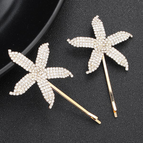 Alloy Korea Geometric Hair accessories  (Alloy) NHHS0057-Alloy