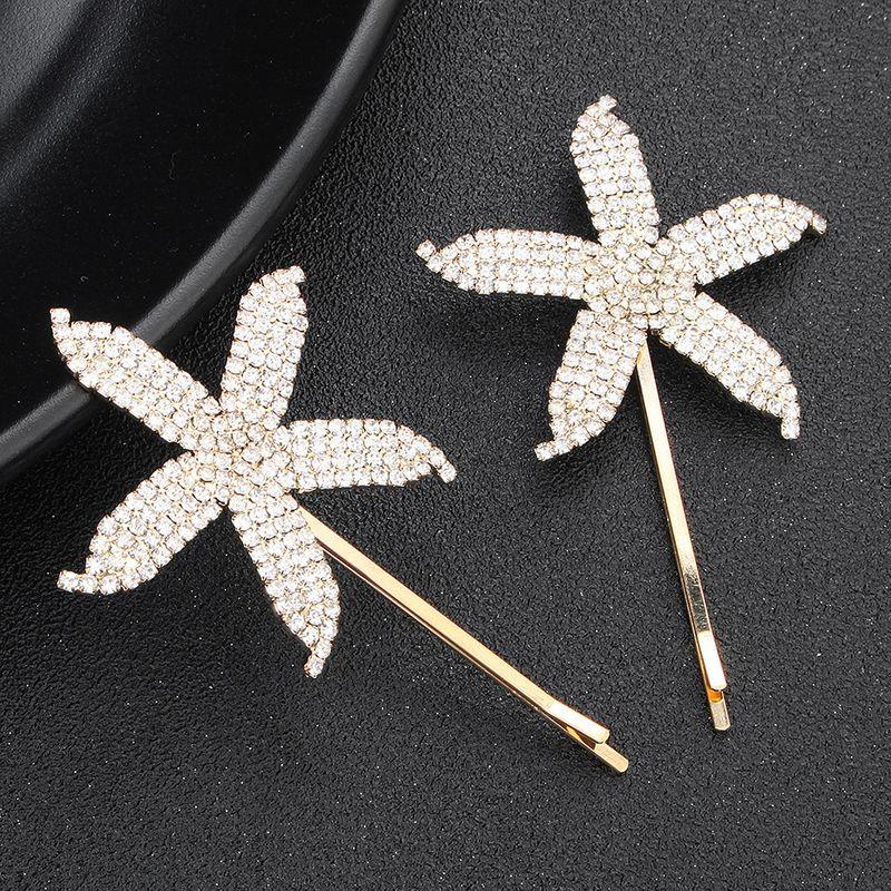Alloy Korea Geometric Hair accessories  (Alloy) NHHS0057-Alloy