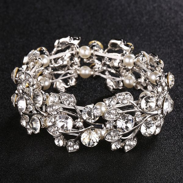 Alloy Fashion Geometric bracelet  (Alloy) NHHS0059-Alloy