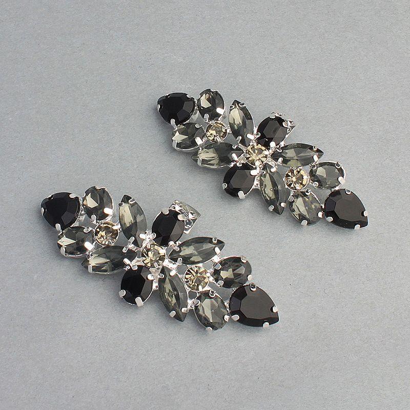Imitated crystal&CZ Fashion  Body jewelry  (black) NHHS0061-black