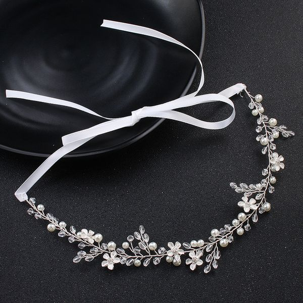 Beads Fashion Geometric Hair accessories  (Alloy) NHHS0078-Alloy