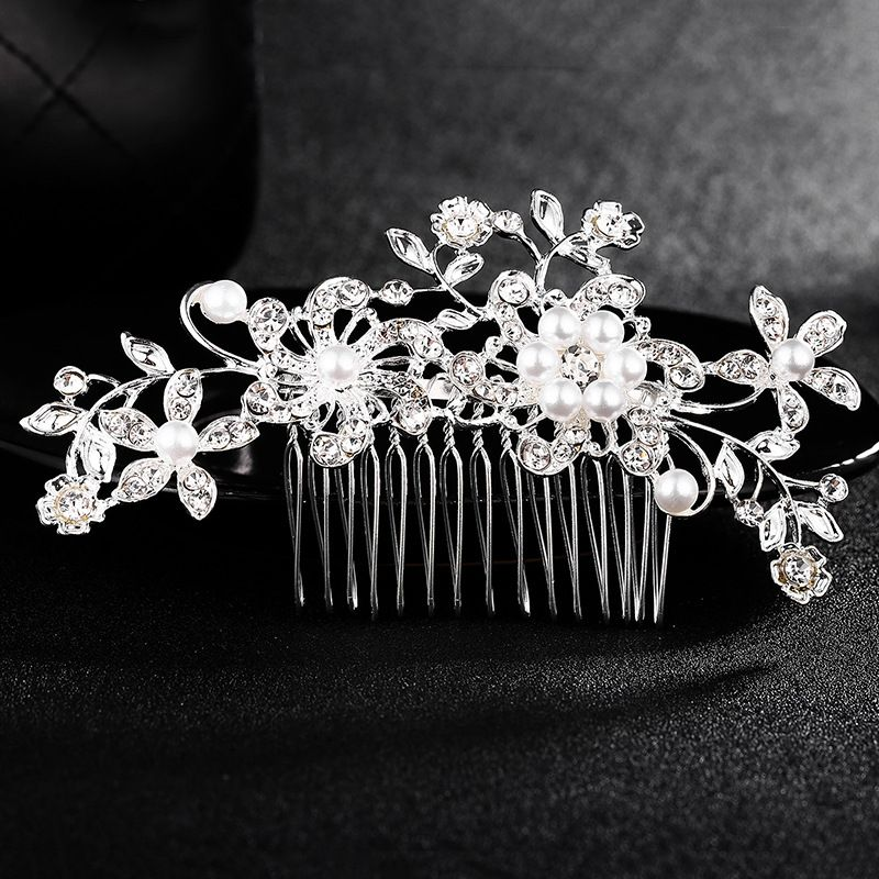 Alloy Fashion Flowers Hair accessories  (Alloy) NHHS0088-Alloy