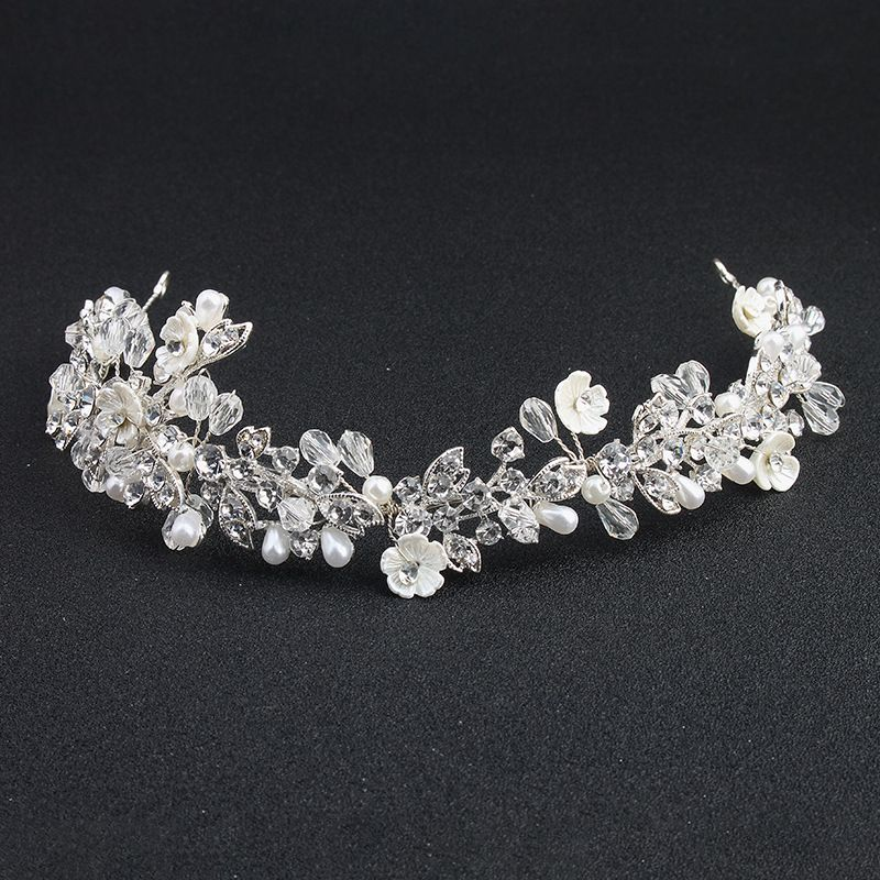 Alloy Fashion Flowers Hair accessories  (Alloy) NHHS0096-Alloy